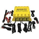 MotoBatt Quad Bank Battery Charger 4 Battery Maintenance Charger Discounted! One Only!